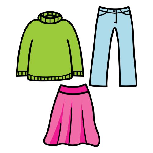 La ropa y el calzado