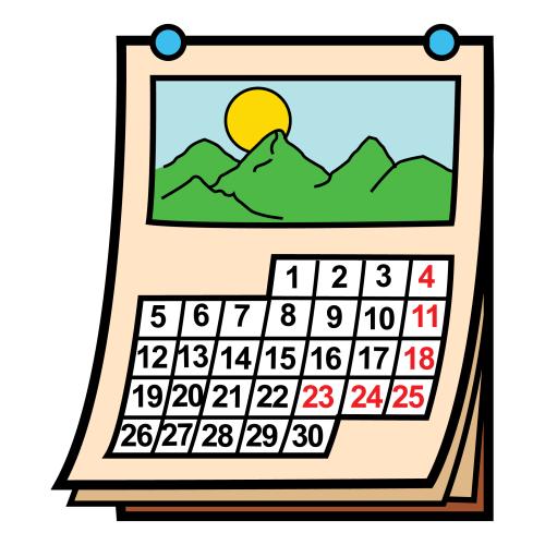 Meses, días y estaciones