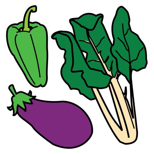 Las verduras y hortalizas